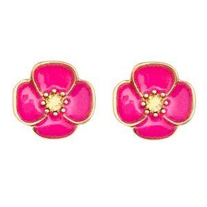 KATE SPADE • Floral Flutter Flower Earrings